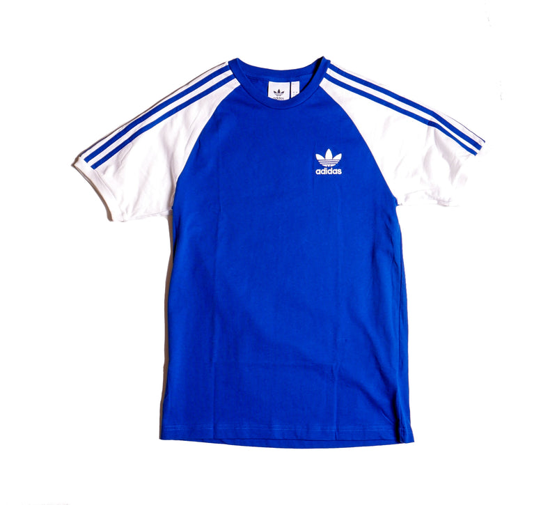 Adidas Originals 3-Stripes Blue T-Shirt