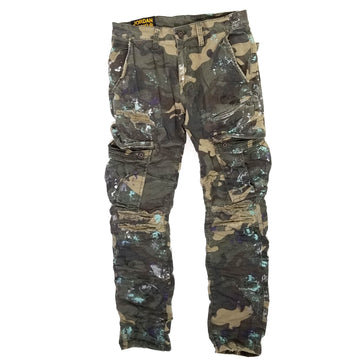Jordan Craig Sean - Highland Stacked Cargo Pants (Camo)