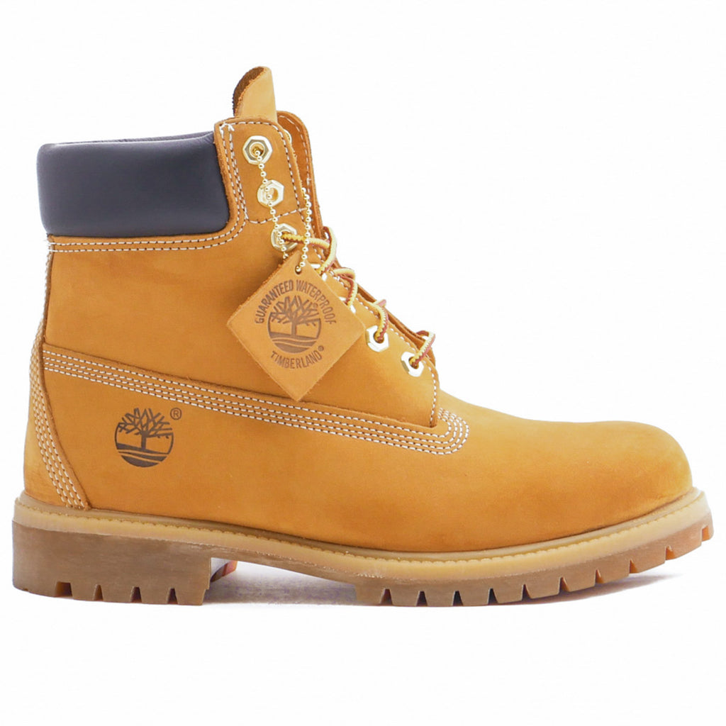"Timberland Mens 6"" Premium Waterproof Boot Wheat"