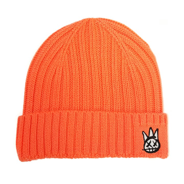 Cult Of Individuality Neon Orange Knit Hat