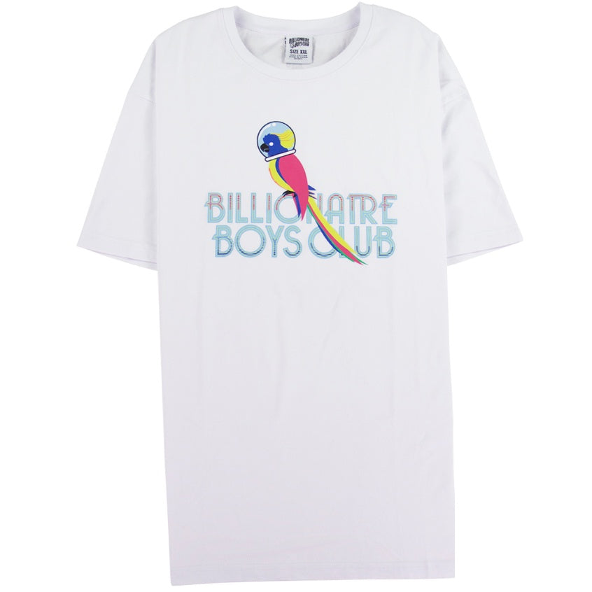 Billionaire Boys Club White Parrot T-Shirt