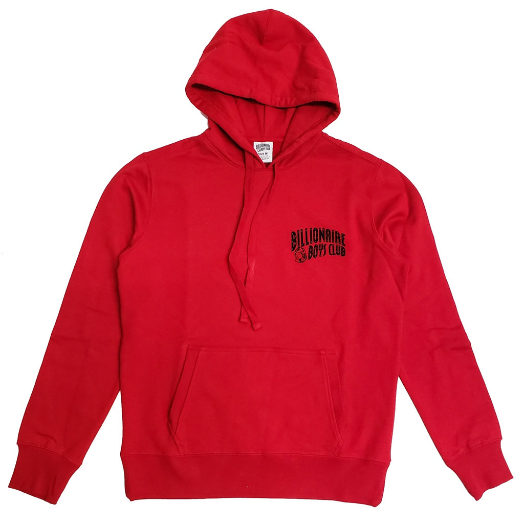 Billionaire Boys Club Red Arch Pull Hoodie