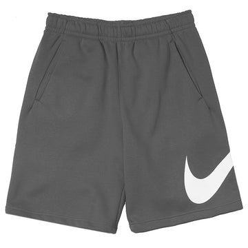 Nike Sportswear Club Fleece Swoosh Shorts Dark Grey