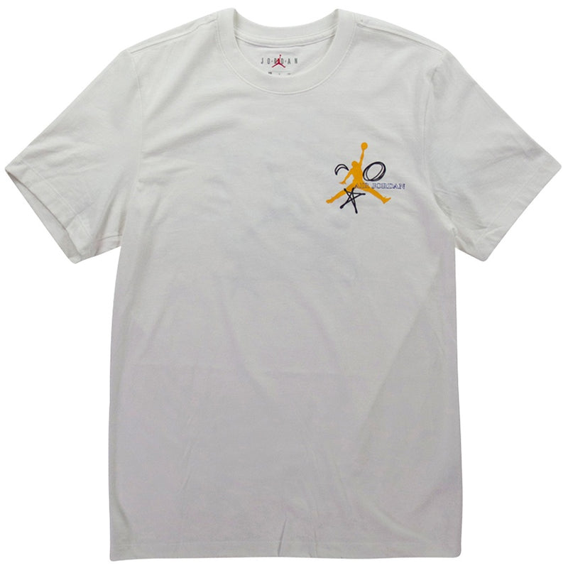 Air Jordan Legacy FIBA AJ 10 White T-Shirt