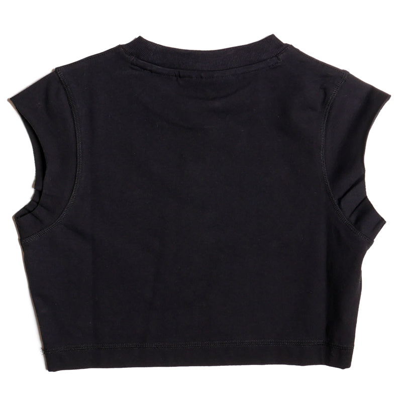 Fila Women's Black Pia Crop Tee