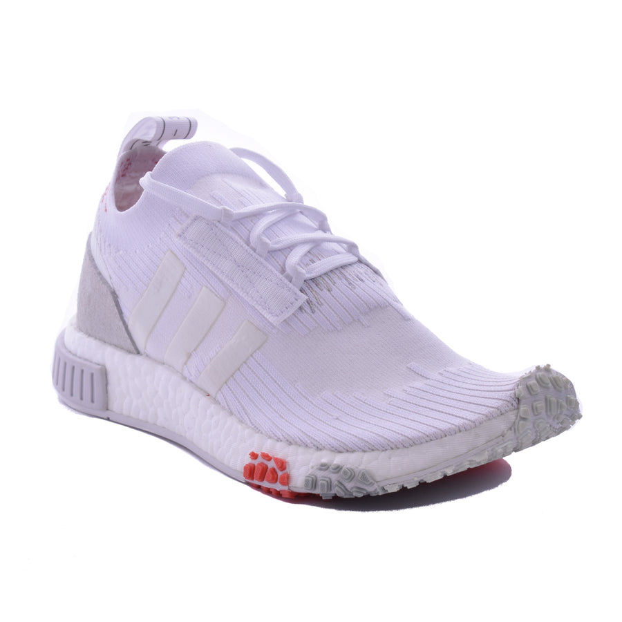 Adidas Womens NMD_Racer Primeknit White