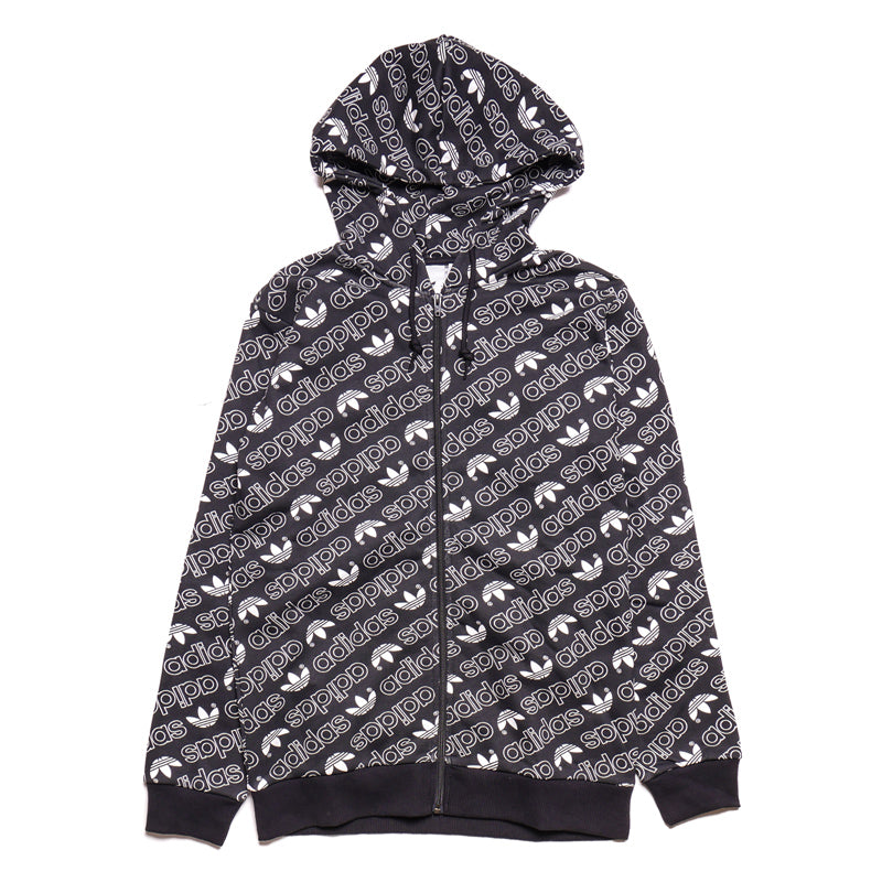 Adidas Men's Monogram Full-Zip Hoodie