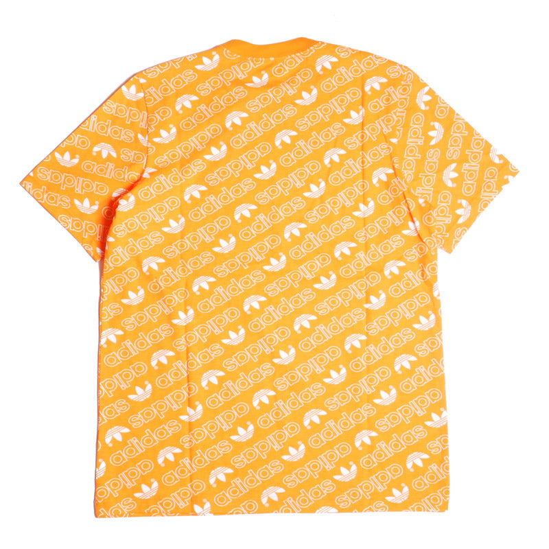 Adidas Monogram T-Shirt Orange