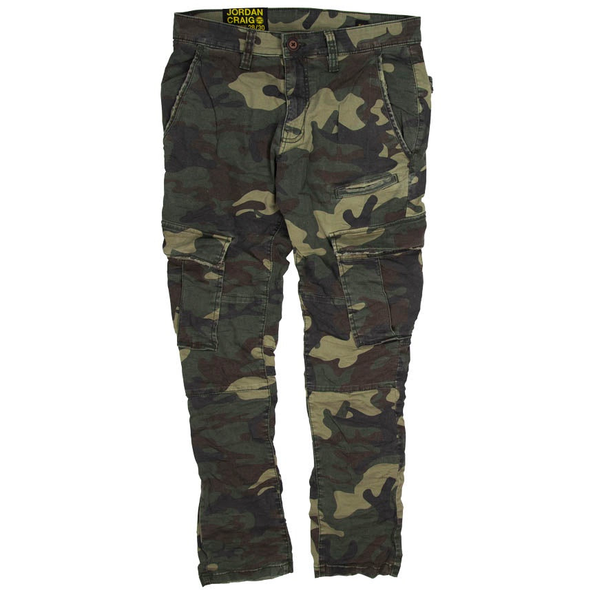 Jordan Craig Sean - Stacked Cargo Camo Pants