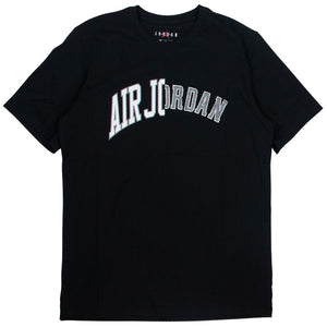 Air Jordan M J Authenthic Black Crew T-Shirt