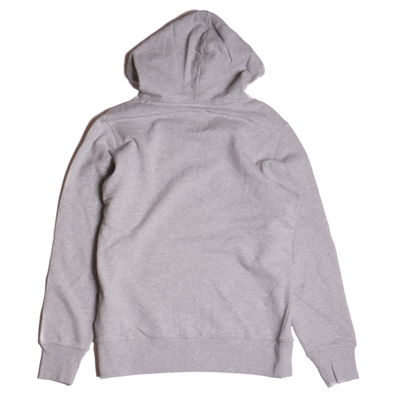 PRPS Men's Grey Graffiti Fleece Pullover Hoodie
