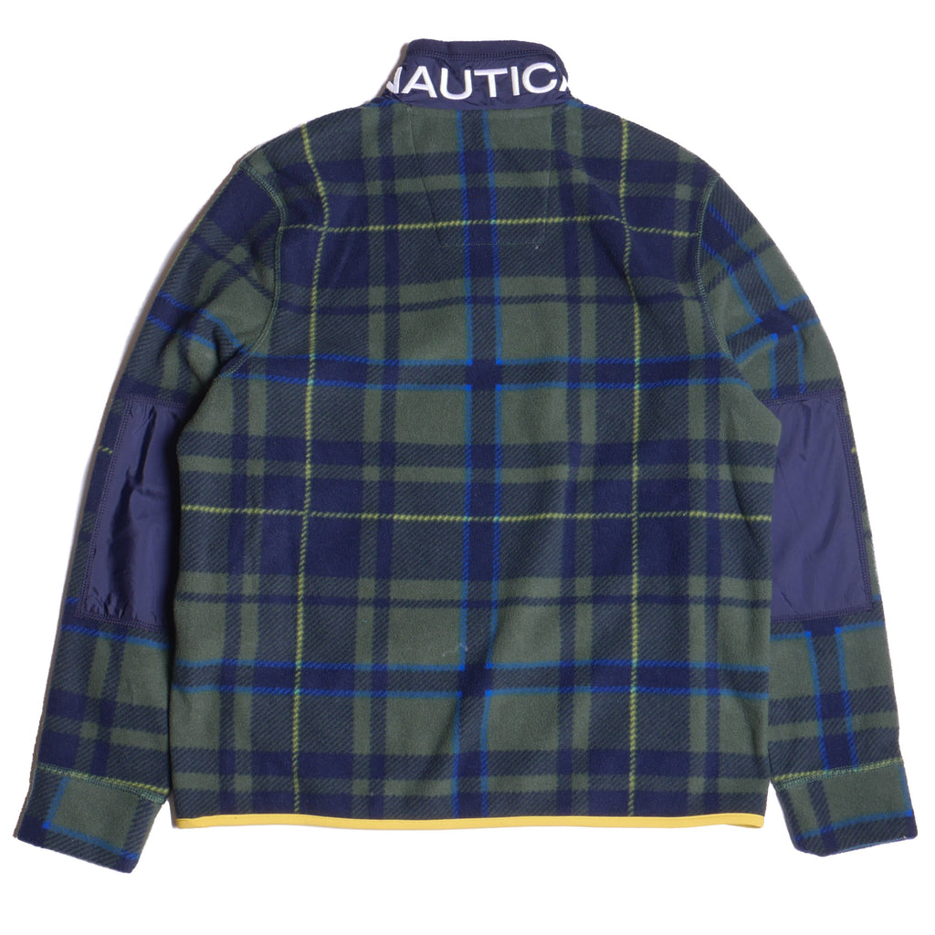 Nautica Men's Quarter-Zip Plaid Pullover