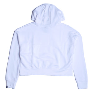 Nike Womens Fleece Pullover Hoodie White