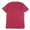 Cult Of Individuality Tri Color Embroidery T-Shirt Burgundy