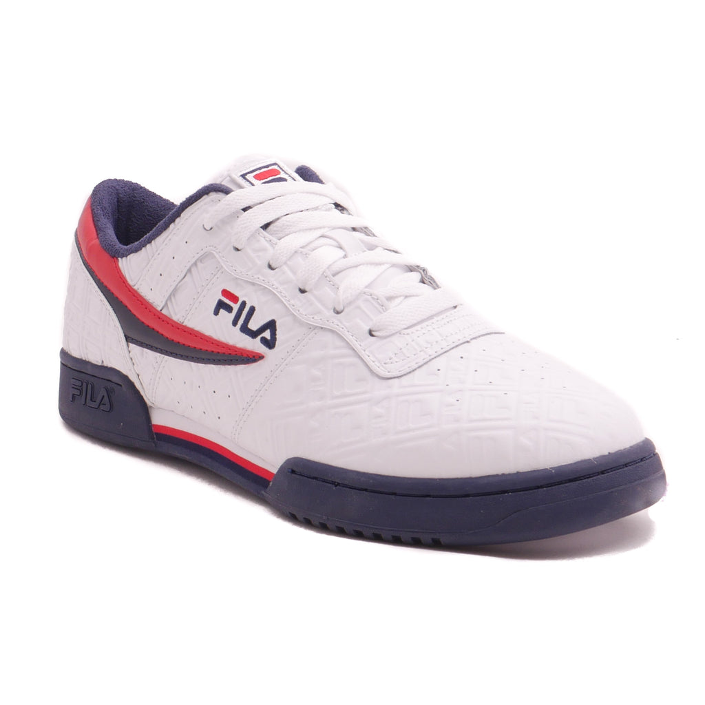 Fila Men's White Original Fitness Embossed Logo