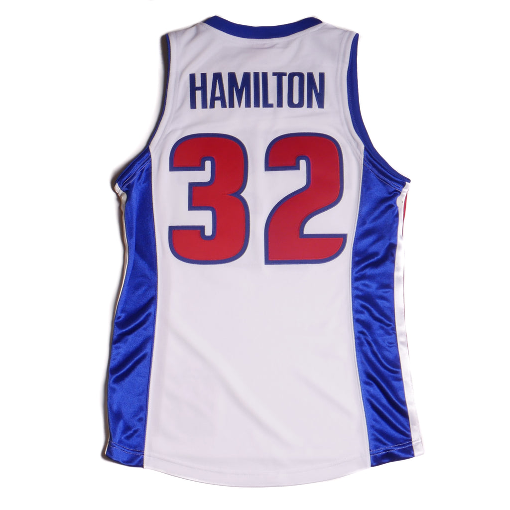 Mitchell & Ness Authentic Detroit Pistons Jersey 03-04 Finals Hamilton