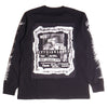 Lifted Anchors Black Flyer Long Sleeve T-Shirt