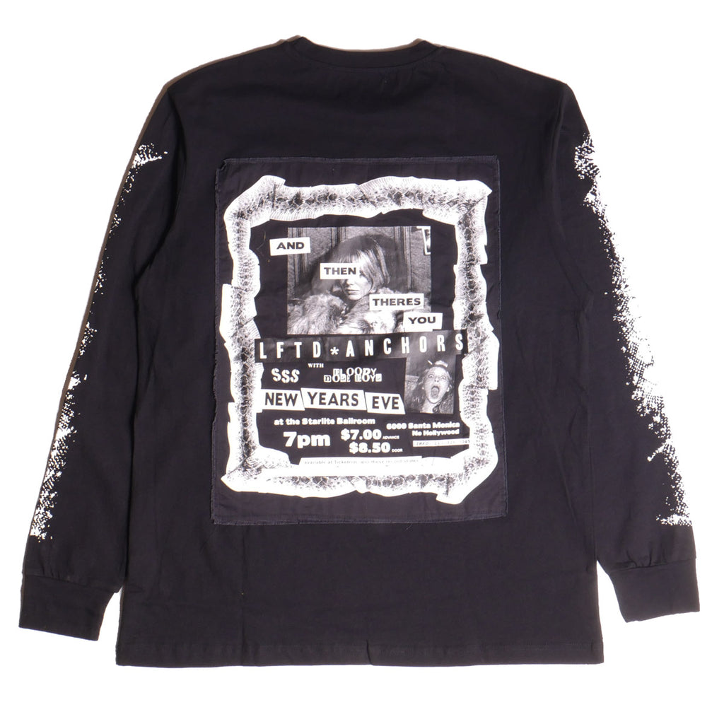 Lifted Anchors Black Flyer L/S T-Shirt