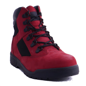 "Timberland 6"" Kids Field Boot Ruby Red (GS)"