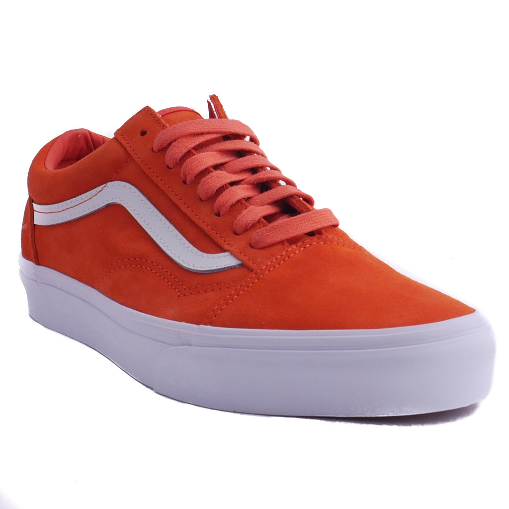 Vans Old Skool Orange Soft Suede