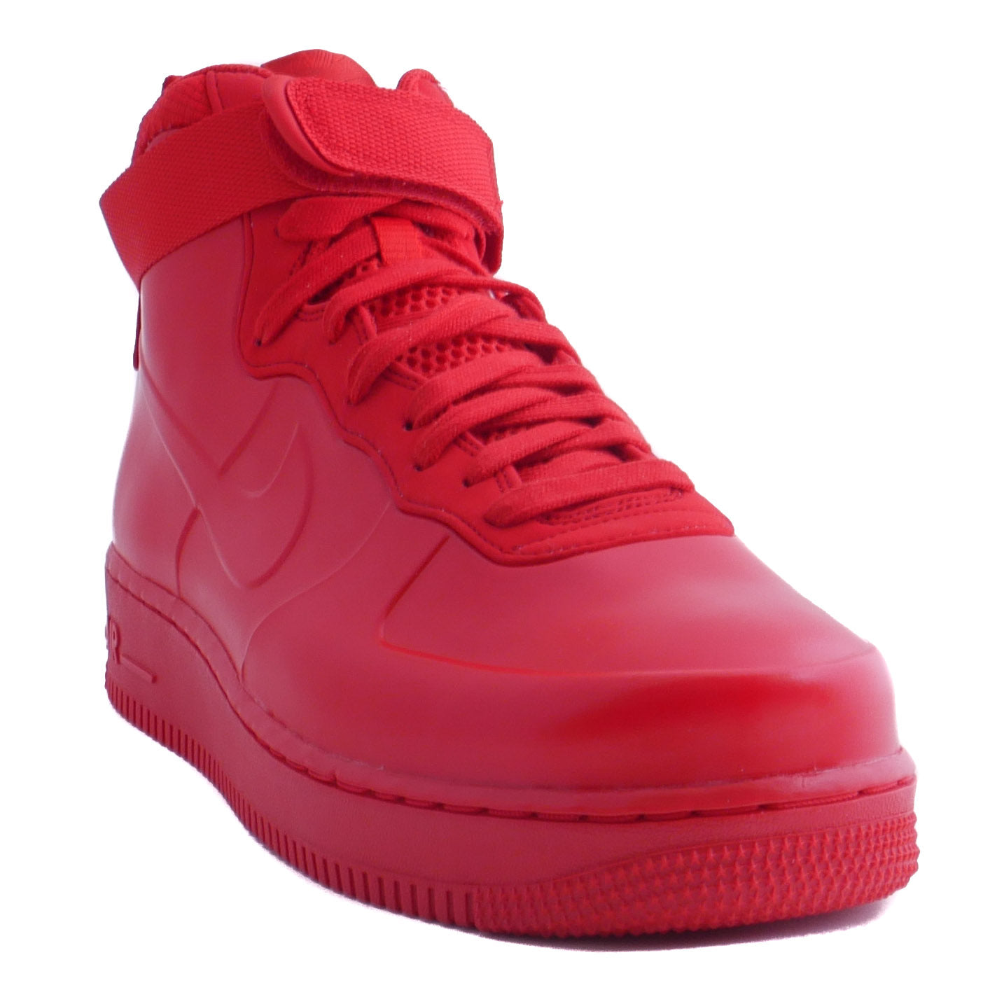 the latest 504c0 f0510 Nike Air Force 1 Foamposite Red Cupsole