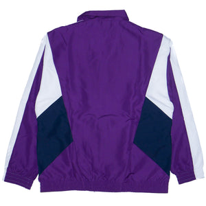 Adidas Womens 90's Block Purple Track Jacket