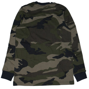 Adidas Camo Trefoil Long Sleeve Shirt