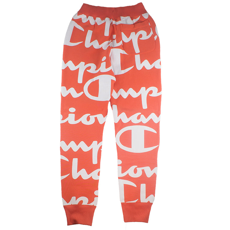 Champion Reverse Weave Jogger Giant CHP Script Pink
