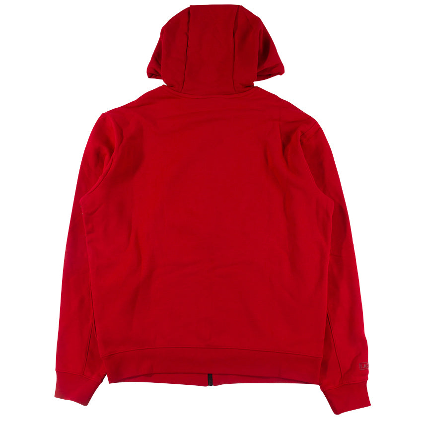 Lacoste Sport Red Outlined Big Croc Full-Zip Hoodie