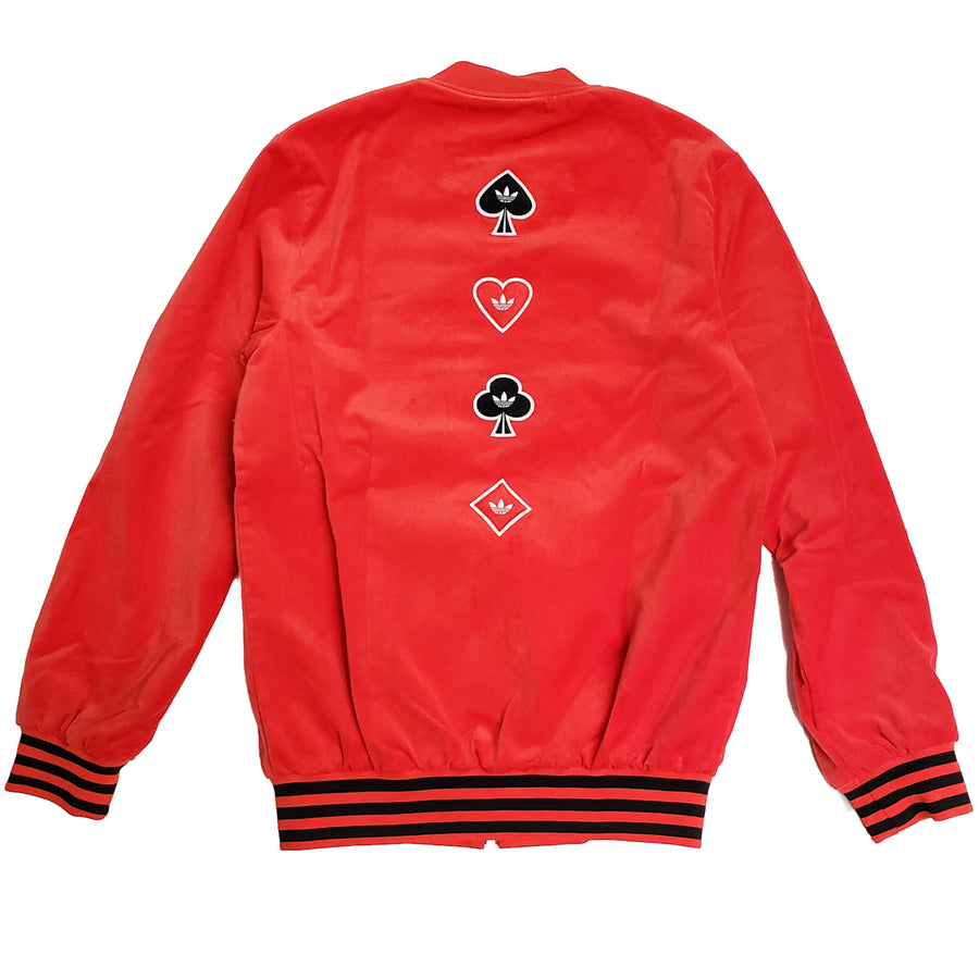 Adidas Women's Red V-Day Jacket
