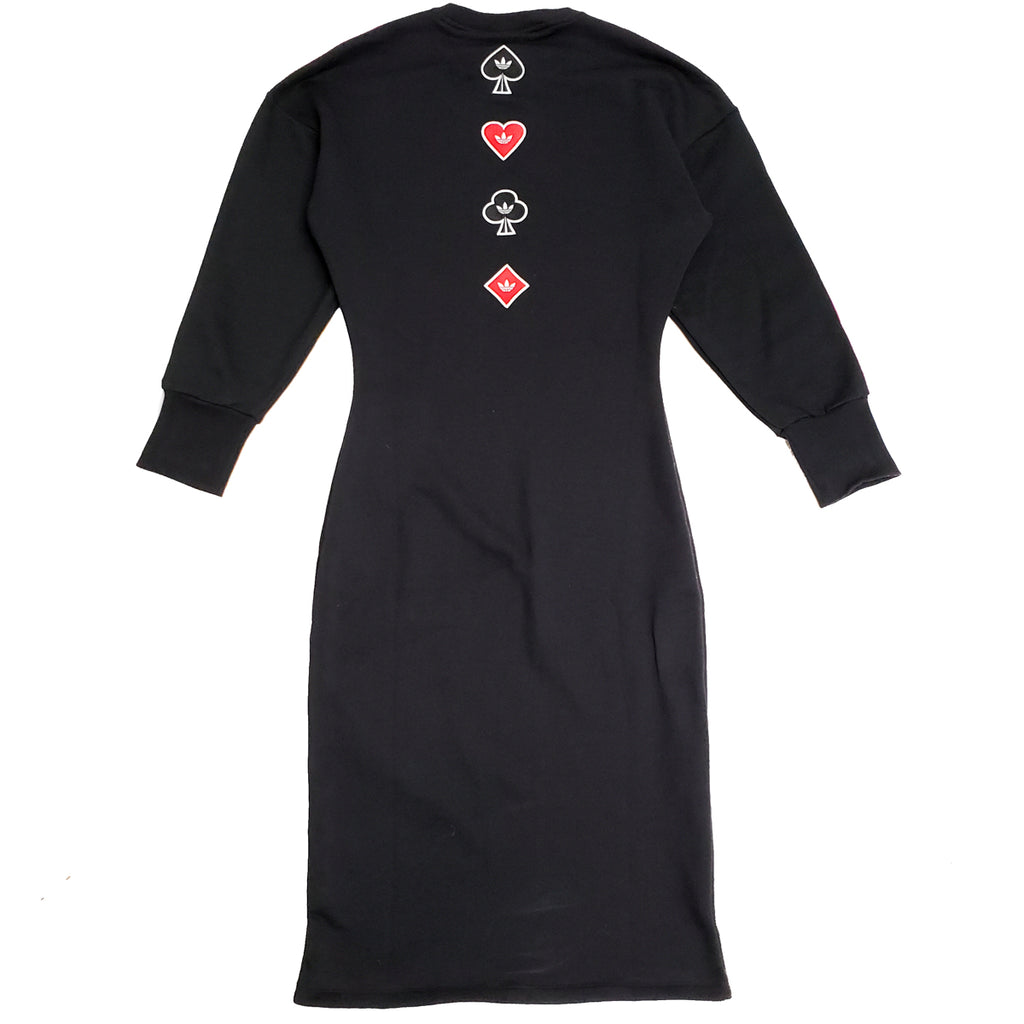 Adidas Black V-Day Dress