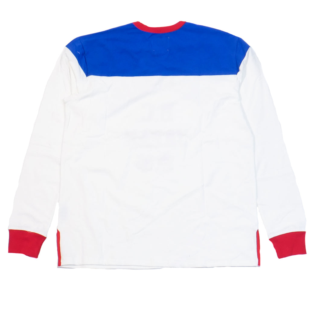 Billionaire Boys Club White Motorclub LS Shirt