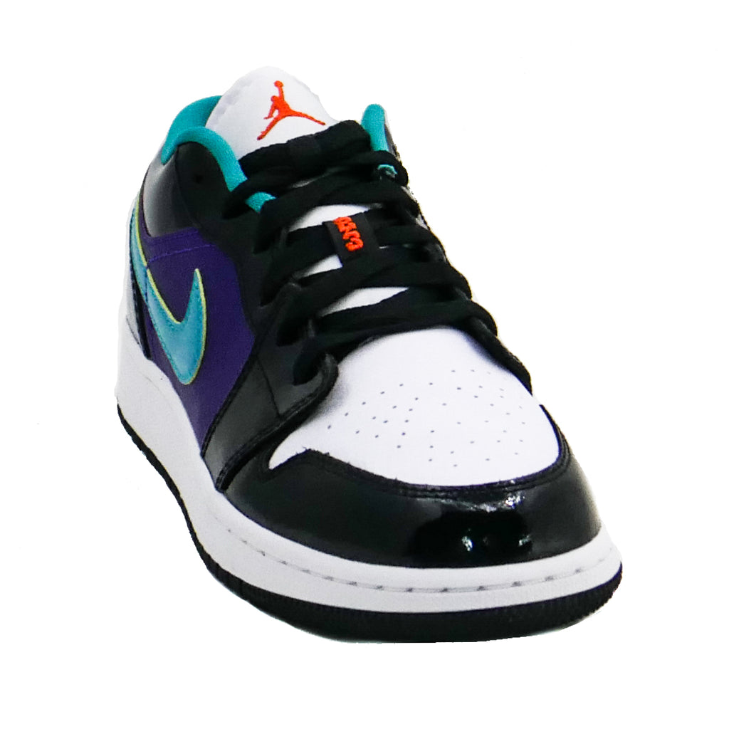 Air Jordan Kids 1 Low (GS) Black/Turbo Green