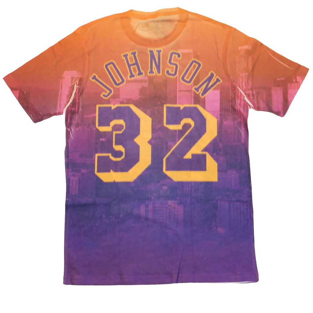 Mitchell & Ness City Pride SS T-Shirt Los Angeles Lakers Magic Johnson