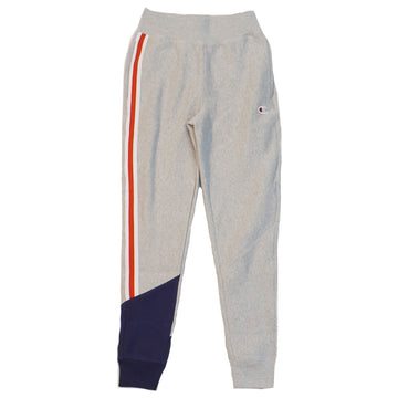 Champion Women's Reverse Weave Grey Colorblock Jogger
