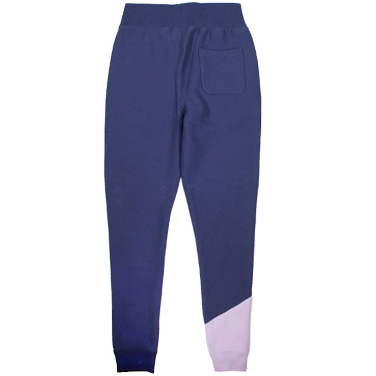 Champion Women's Reverse Weave Navy Colorblock Jogger