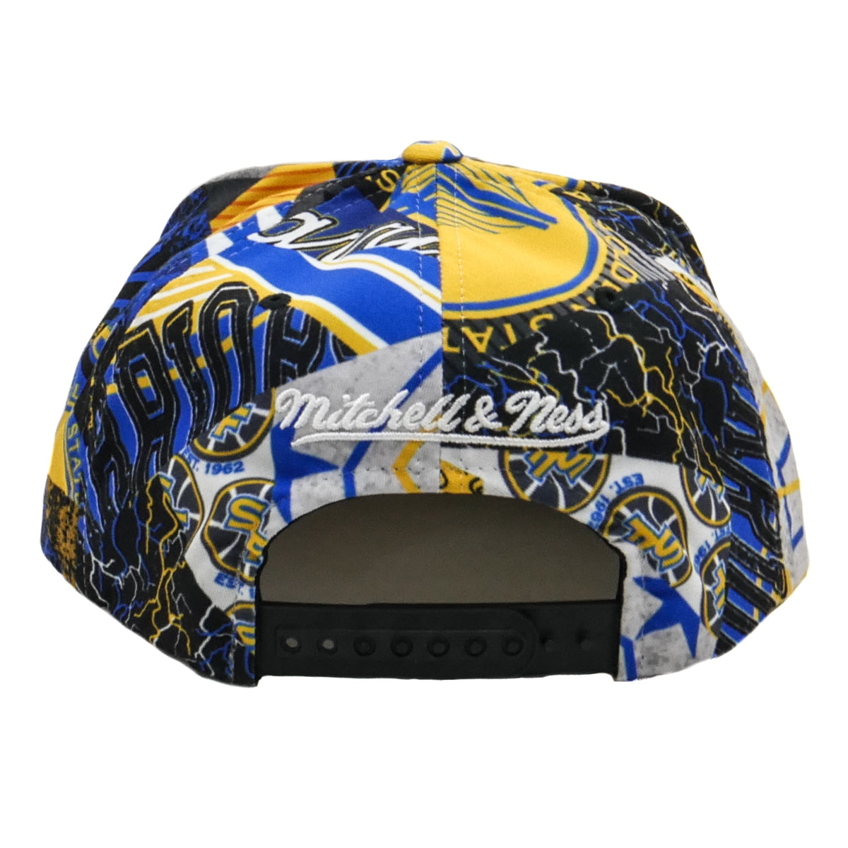 sale retailer 474e0 1af8e Mitchell   Ness Paysage Snapback Golden State Warriors