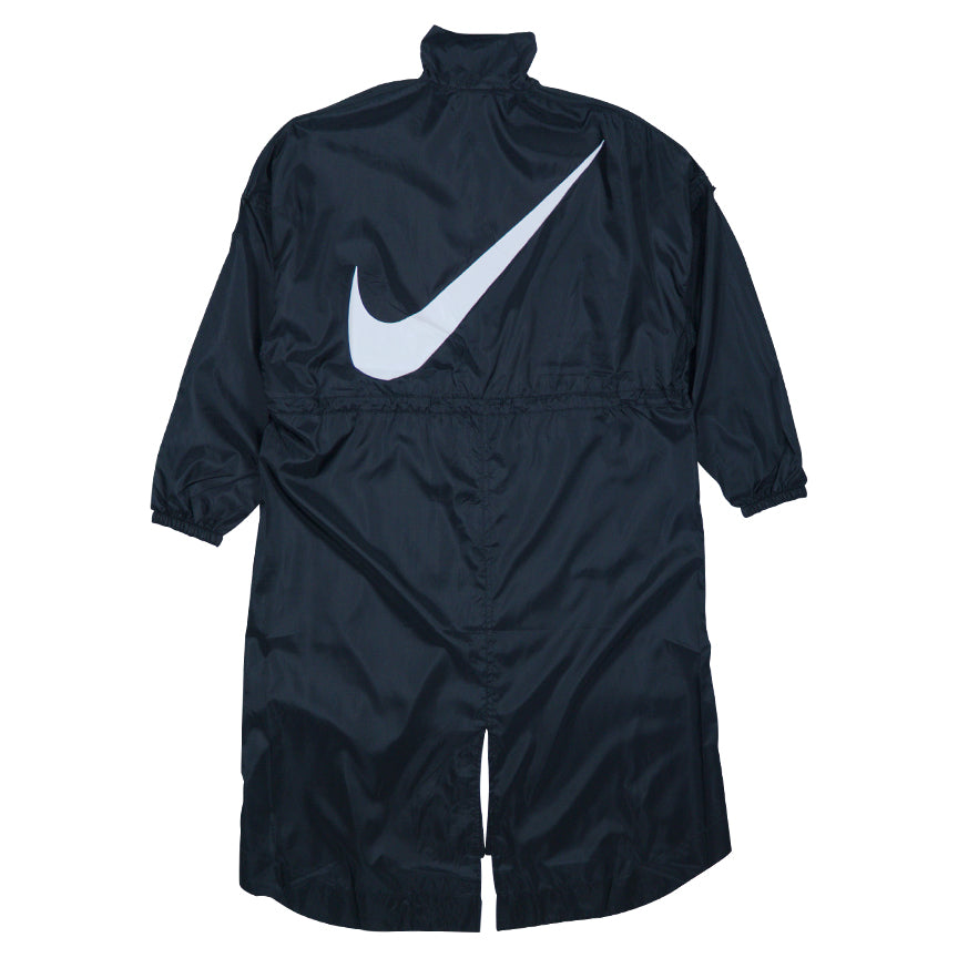 Nike Women's NSW Swoosh Black Long Woven Jacket
