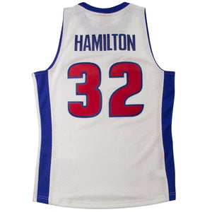 Mitchell & Ness Swingman Jersey Detroit Pistons 2003 Richard Hamilton Home