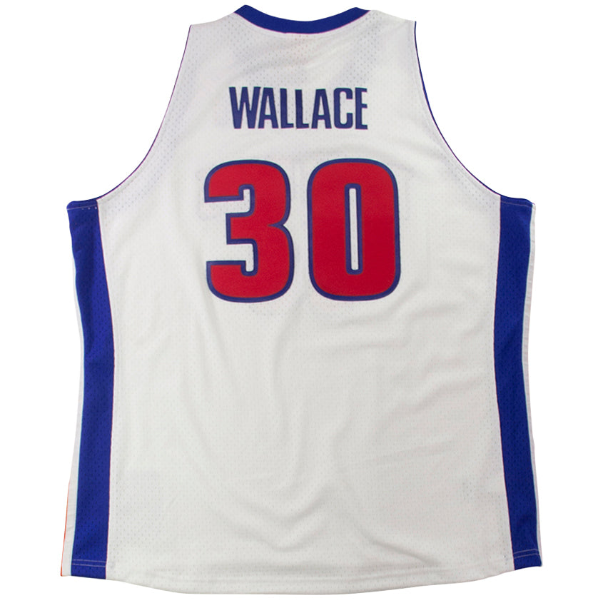 Mitchell & Ness Swingman Jersey Detroit Pistons 2003 Rasheed Wallace Home