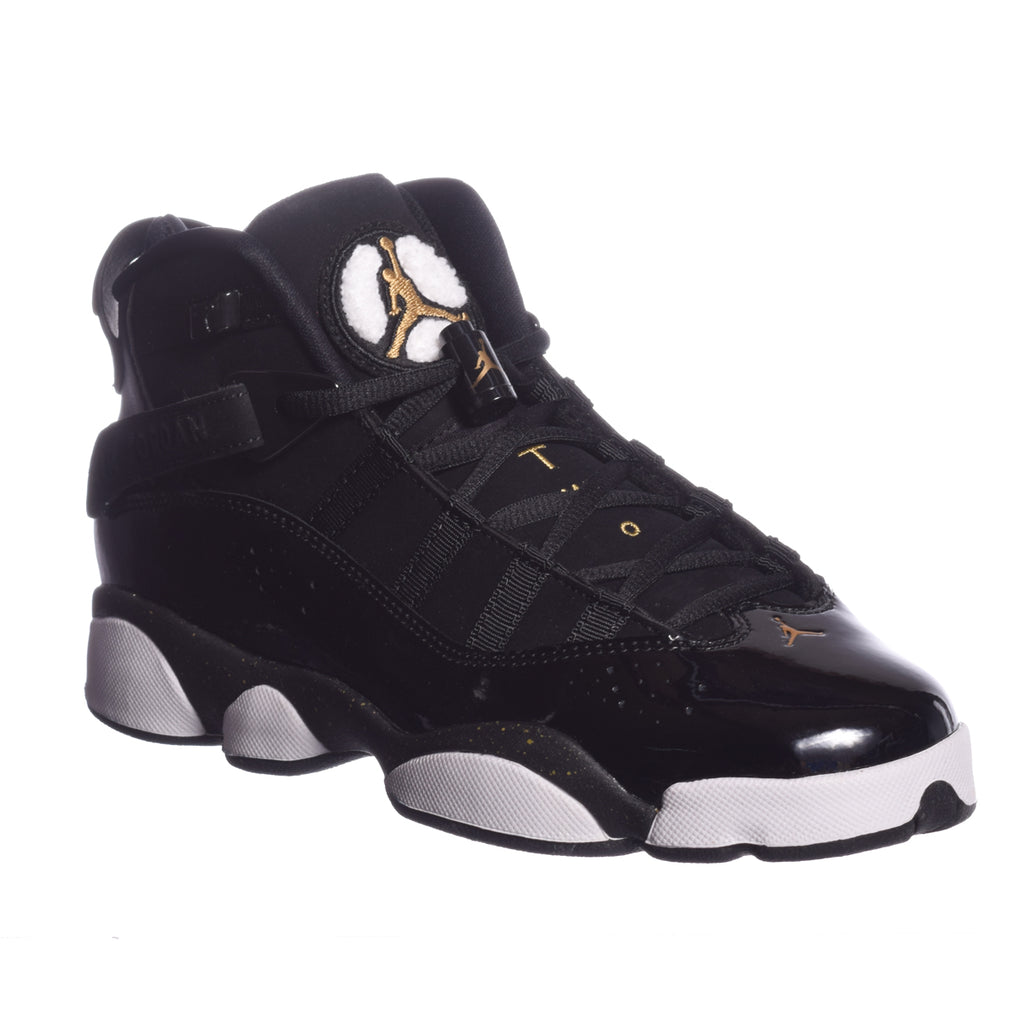 Air Jordan 6 Rings (GS) Black/Metallic Gold