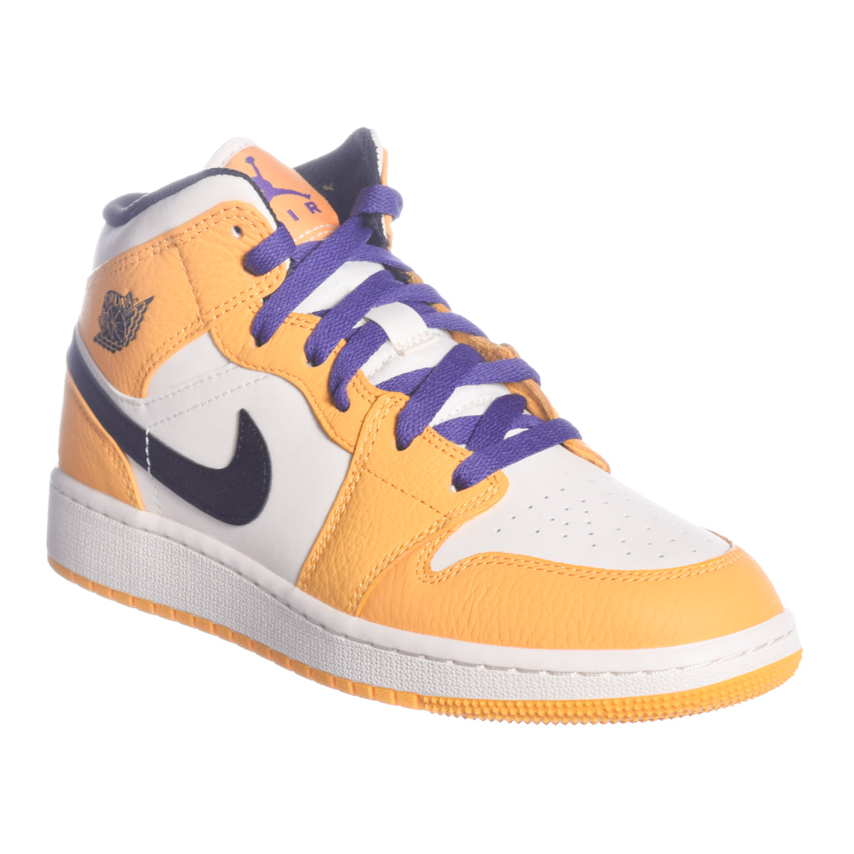 b71728f51003 Air Jordan 1 Mid SE  Lakers  (GS) – Puffer Reds
