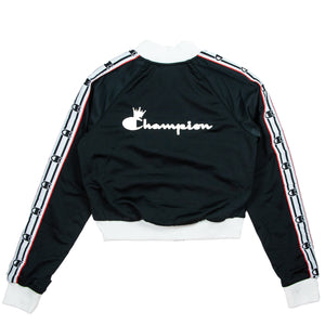 Champion Women's Black Track Jacket