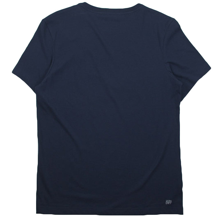Lacoste Sport Navy Technical Jersey Tennis T-Shirt