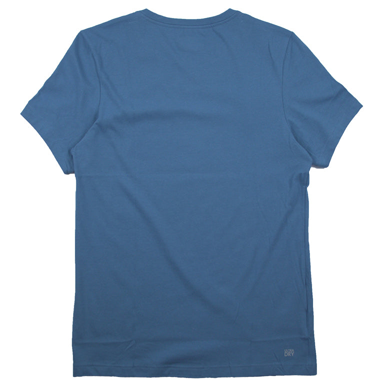 Lacoste Sport Blue Technical Jersey Tennis T-Shirt