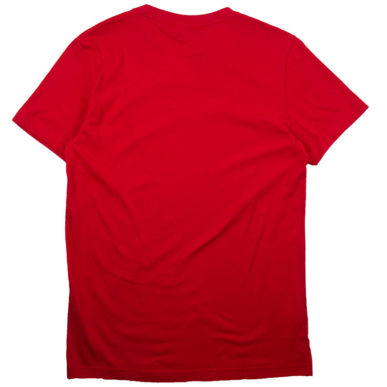 Lacoste Sport Red Crew Neck Tech Jersey T-Shirt