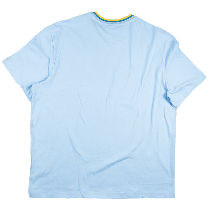 Lacoste Blue Crew Neck Cotton T-shirt