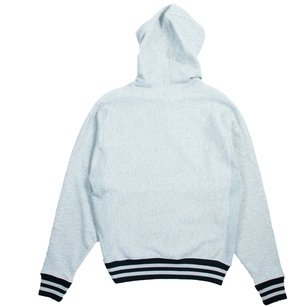 Champion Reverse Weave Yarn Dye Grey Hoodie