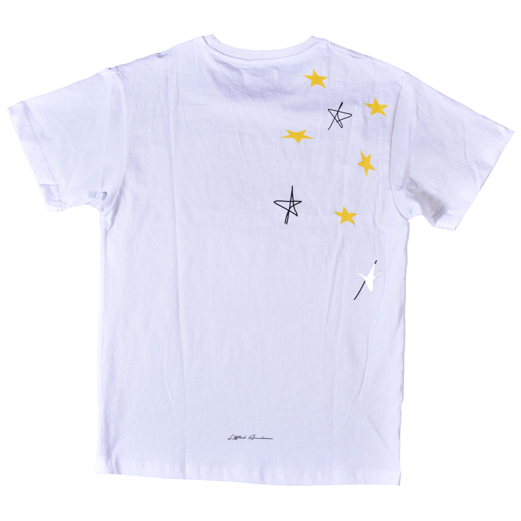 Lifted Anchors White Abbey T-Shirt