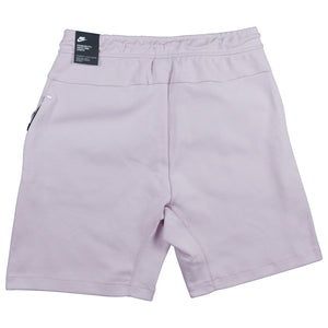 Nike Sportswear Tech Purple Fleece Shorts